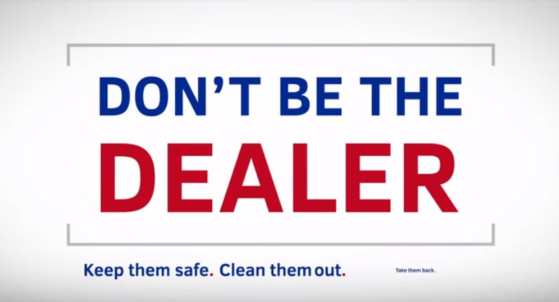 Dont be the dealer
